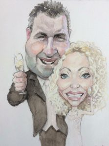 Wedding Caricatures Northern Ireland